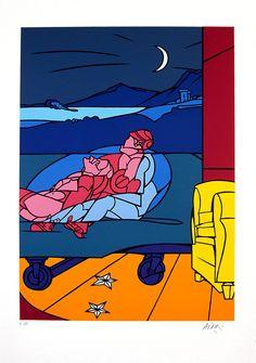 Paintings by Valerio Adami