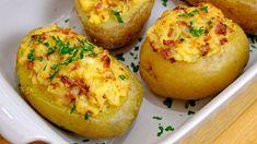 Good Food, Yummy Food, Romanian Food, Baked Potato, Quinoa, Confectionery, Bacon, Potatoes, Tasty