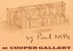Paul Noble, TENT, drawing. Image courtesy the artist.