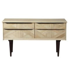TV komoda z masivního mangového dřeva Woodjam Gatsby Raw Komodo, Gatsby, Credenza, Buffet, Cabinet, Storage, Tv, Furniture, Home Decor