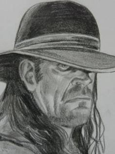 WWE Undertaker 5 by VinceArt on DeviantArt Roman Reigns, Wwe Coloring Pages, Realistic Face Drawing, Daniel Bryan Wwe, Harley Davidson, Wrestling Posters, Undertaker Wwe, Wrestling Superstars, Wwe World