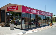 Mandela family restaurant Historical Sites, South Africa, Restaurants, Places To Visit, African, Outdoor Decor, Travel, Viajes, Restaurant