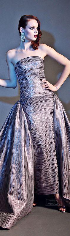 Christian Siriano.~ Evening Gown, Pre-Fall 2015.