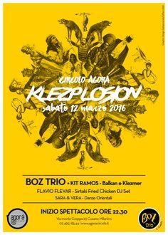 Boz Trio poster @Circolo Agorà