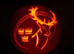 Munster Rugby, Irish Rugby, Pumpkin Carving, Image, Pumpkin Carvings