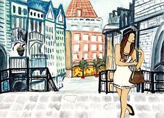 City girl on Behance