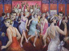 François Batet 1921   Spanish Art Déco painter   Tutt'Art@