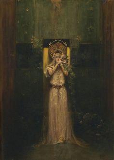 Alfons Mucha - Flora