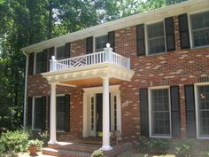 front portico designs home ideas - Google Search