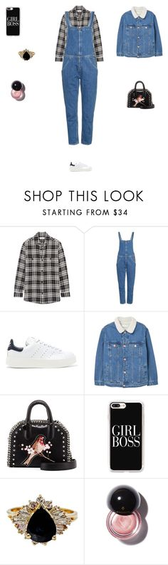 """""""Untitled #3756"""" by smaranda-panfil ❤ liked on Polyvore featuring Yves Saint Laurent, M.i.h Jeans, adidas Originals, MANGO, STELLA McCARTNEY and Casetify"""