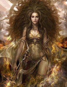 Femme LION