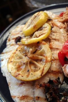 about grilling: seafood on Pinterest   Grilled tilapia, Grilled salmon ...