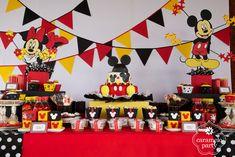 Adornos de cumpleaños de Mickey Mouse - Nocturnar