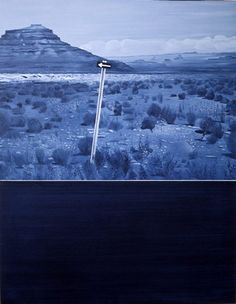 (A) Jacques Monory, Death Valley #UneSource