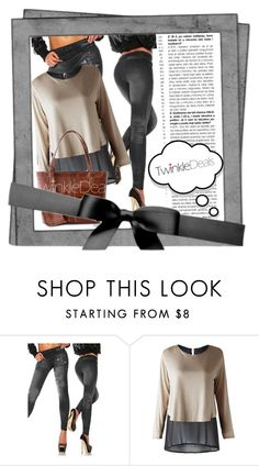 """TwinkleDeals I/25."" by zura-b ❤ liked on Polyvore featuring women's clothing, women, female, woman, misses and juniors"