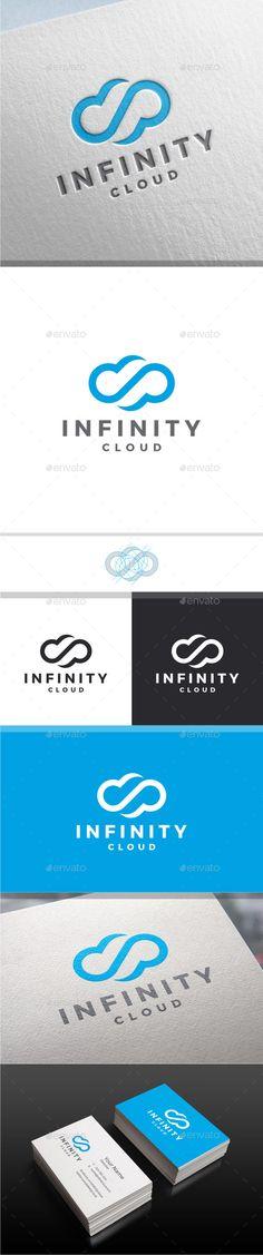 RHEA -ref -Infinity Cloud Logo - Symbols Logo Templates
