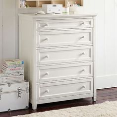 Beadboard 5-Drawer Dresser #pbteen. This one for Lexi to start with.