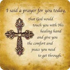 a prayer for you