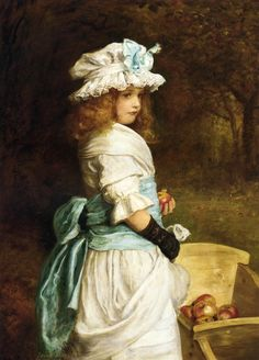 John Everett Millais: Pomona. Oil on canvas (1882)