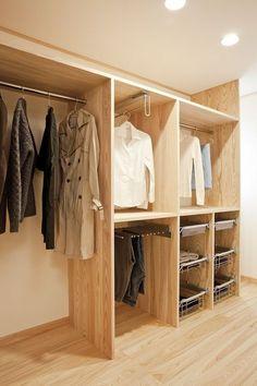 Incredible Small Walk-in Closet Ideas & Makeovers « Mutter ADS Bedroom Wardrobe, Wardrobe Closet, Closet Space, Walk In Closet, Bedroom Closet Design, Home Room Design, Closet Designs, Diy Master Closet, Teen Room Decor