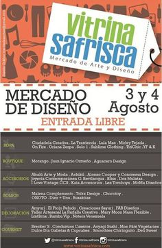 Cresta Metálica Producciones » VITRINA SAFRISCA este fin de semana 3 y 4 de agosto en Los Dos Caminos de Caracas