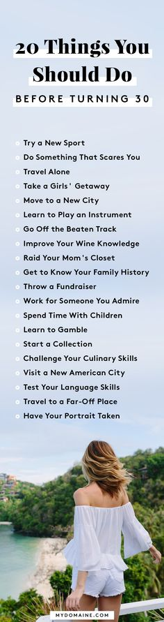 "The ultimate bucket list for millennials - I""ve done them all with the exception of throwing a fundraiser."