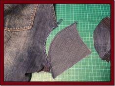 Outro dia comentei por aqui que todo mundo que tem uma máquina de costura já recebeu pedidos de reformas, como fazer bainhas em calça jeans ...