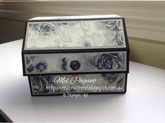 CreatewithMel: Timeless Elegance Chest of cards, stampin up, cards in a box