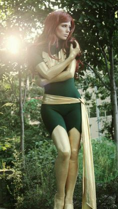 If I were cool I would cosplay Jean Grey or Rogue  (X-Men) #Cosplay