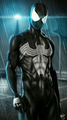 Black suit Spidey