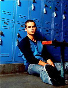 Dylan O'Brien. God I love Teen Wolf.