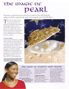 Crystals & Stones:  The Magic of #Pearl.