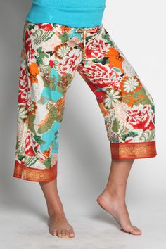 AAMANI Capri (single border) Love these pj pants & the purchase of a pair helps women who are rebuilding their lives!