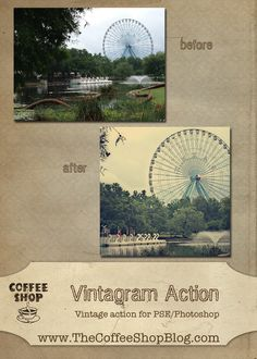 The CoffeeShop Blog: CoffeeShop Vintagram Action!