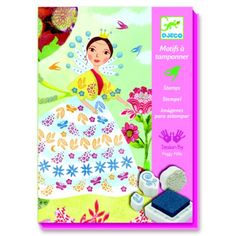 This Flower Maidens Stamps Set from Djeco comes with 20 illustrated sheets and 14 stamps and 3 ink pads for you child to create gorgeous dress decorations. Tampons En Mousse, Collage, Pow Wow, Creative Play, Ink Pads, Kirigami, Christmas Presents, Your Child, Stamps