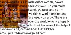 sandawana oil is a miracle oil for wealth , power, boost business , bring back lost love. Do you really don't know the use of sandawana oil and skin Bring Back, Bring It On, Black Magic Love Spells, Lost Love, Do You Really, All Over The World, Being Used, Spelling, Wealth