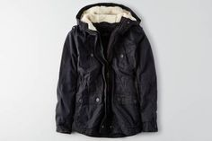 AEO Cotton Parka  by  American Eagle Outfitters   Cool outsider. Your outermost layer is designed for versatility and effortless cool.   Shop the AEO Cotton Parka  and check out more at AE.com.
