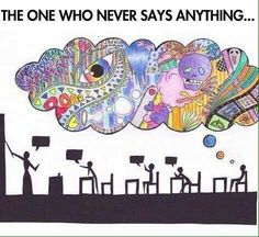 Funny pictures about It's Always The Quiet Ones Who Have The Greatest Minds. Oh, and cool pics about It's Always The Quiet Ones Who Have The Greatest Minds. Also, It's Always The Quiet Ones Who Have The Greatest Minds photos. Mbti, Infp Personality, The Quiet Ones, Infj Infp, Introvert Quotes, Isfp, A Silent Voice, Stephen Hawking, Say Anything