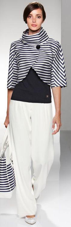 Cinzia Rocca - nice jacket... | Street Fashion