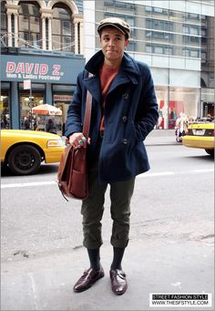 STREET FASHION STYLE: A San Francisco and New York Street Style Blog (SF to NYC!): Man Morsel Monday - Newsboy Style - Broadway