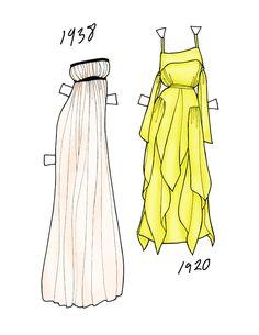 Fashion Paper Dolls | final fashion » paper dolls - Polyvore