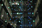 LED Pixel Cloud illuminates office atrium - LEDs