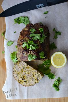 Indian Spiced Lamb Meatloaf (omit red onion or sub chives or scallions) / Comfort Bites Paleo Autoimmune Protocol, Meatloaf, Salmon Burgers, Diet Recipes, Lamb, Health And Wellness, Main Dishes, Spices, Roasts