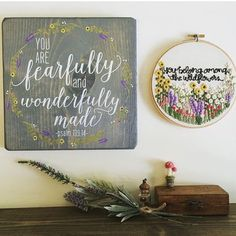 Happy #saturdaymorning! Loving these two pieces by @jellybirdsigns and @knottydickens! #greatreminder {photo via @knottydickens }