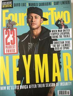 "In this issue! NEYMAR! How he'll fix Barca after their season of insanity When Man United stopped Liverpool doing the treble Christian Ziege - ""The day I almost died at Spurs"" PLUS EXCLUSIVE INTERVIEWS! <ul> <li>David Luiz</li> <li>Manolo Gabbiadini</li> <li>Gary Lineker</li> </ul>"