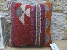 Welcome to my shop ZDKilimsPillow All my kilim pillows in my Collections are made from vintage kilims they have been wash and ready to use, PAYMENT ACCEPT WİTH PAY PAL YOU CAN PAY WİTH ALL OF YOUR CREDİT CARD,OVER PAY PAL. WİTHOUT HAVE PAY PAL ACCOUNT # Size is 16 inches x 16 inches