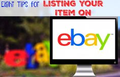 You must know these 8 tips for eBay selling if you want to be successful. Written by someone who has sold on eBay for 18 years!