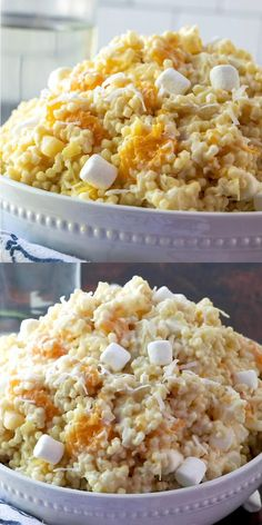 Frog Eye Salad is an easy retro dessert recipe that is perfect for potlucks, picnics, and family gatherings. The name is unusual but the taste is out of this world. Everyone will be asking for the recipe. Fun Desserts, Elegant Desserts, Dessert Recipes, Jello Recipes, Salad Recipes, Pie Recipes, Appetizers For A Crowd, Appetizer Recipes, Frog Eye Salad Recipe