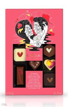 The H-Box Selection - Once bitten, forever smitten. 14 heart-melting love letters in chocolate for charming, wooing and romancing this Valentine's Day. Valentines Day Chocolates, Valentine Desserts, Valentine Chocolate, Valentine Day Gifts, Hotel Chocolate, I Love Chocolate, Chocolate Gifts, Packaging Design, Product Packaging