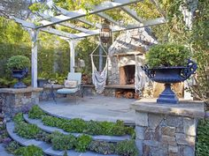 An Outdoor Home With History  - Our Favorite Designer Outdoor Rooms on HGTV